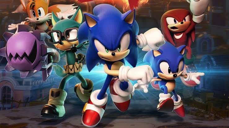 Rezensionen - Sonic Heroes ist eine zweiseitige Rezension über die Multiplattform-Version Sonic Heroes. Der Prüfer gab der Bewertung sieben von zehn Punkten.